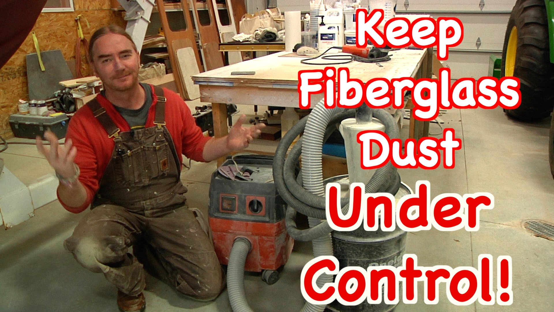 Managing Fiberglass Dust For A Healthy Work Environment