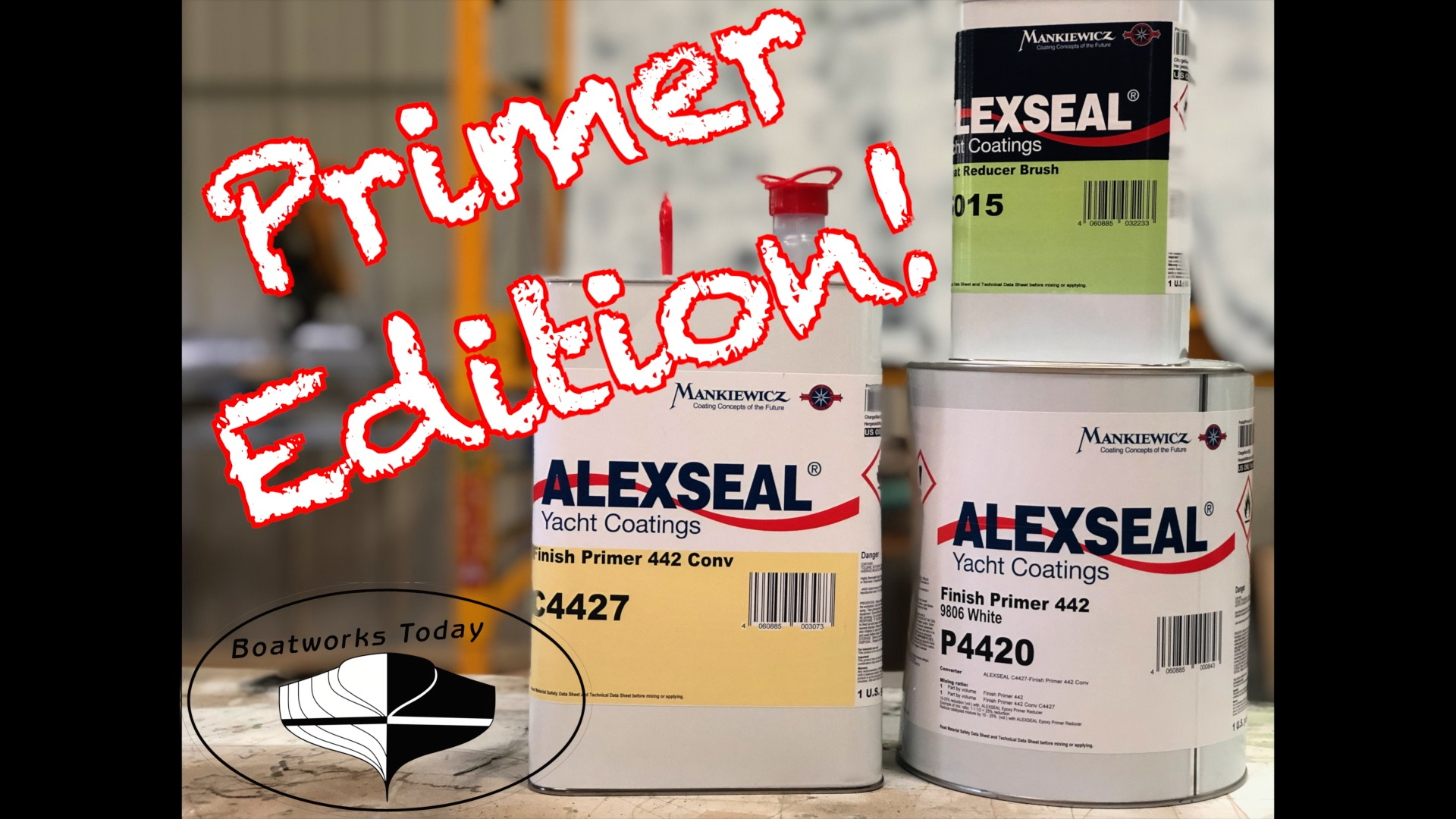 Alexseal Demonstration P1 ~ Best DIY Paint For Your Boat?