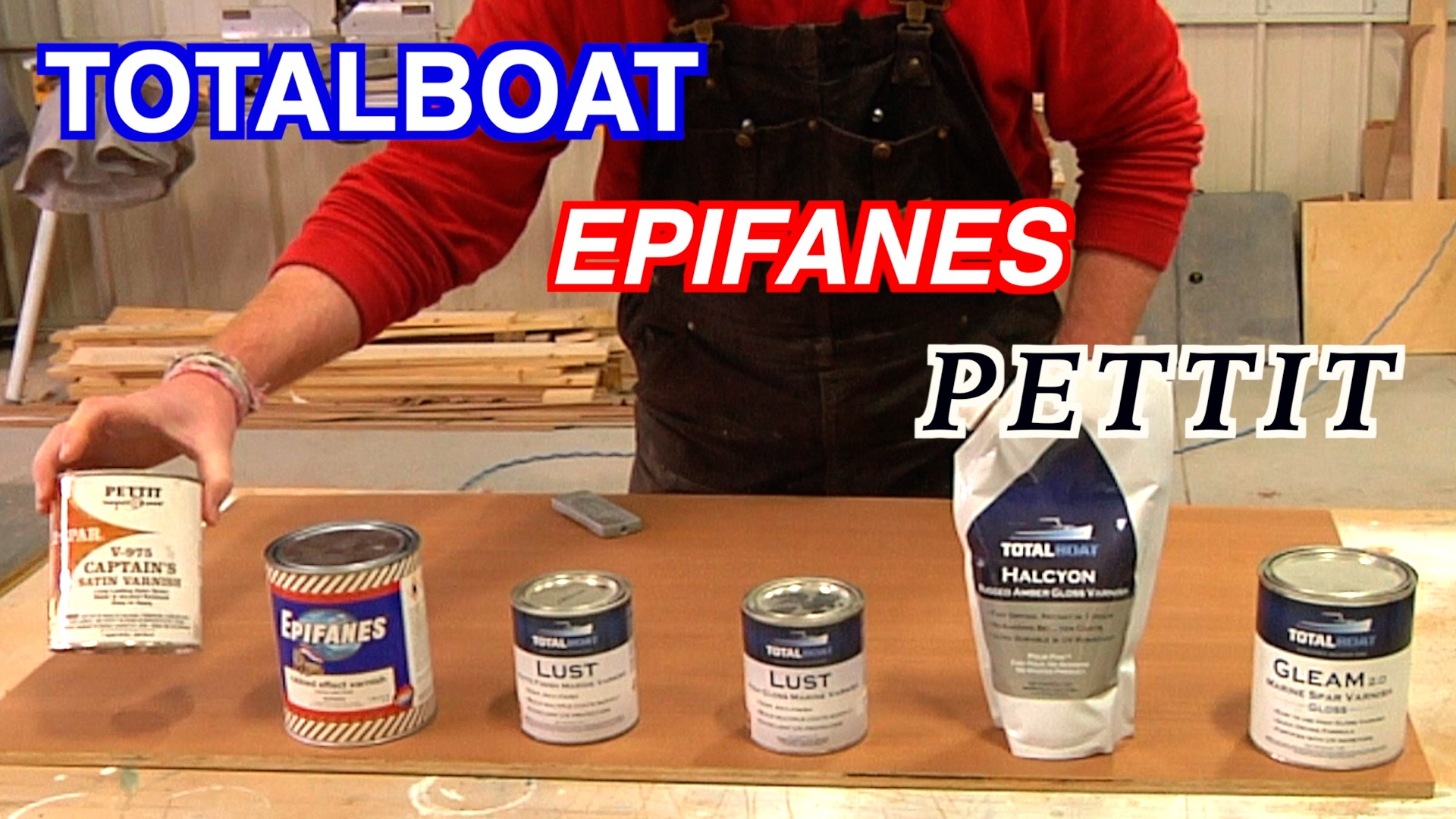 Comparing Different Varnishes For Your Boats Brightwork