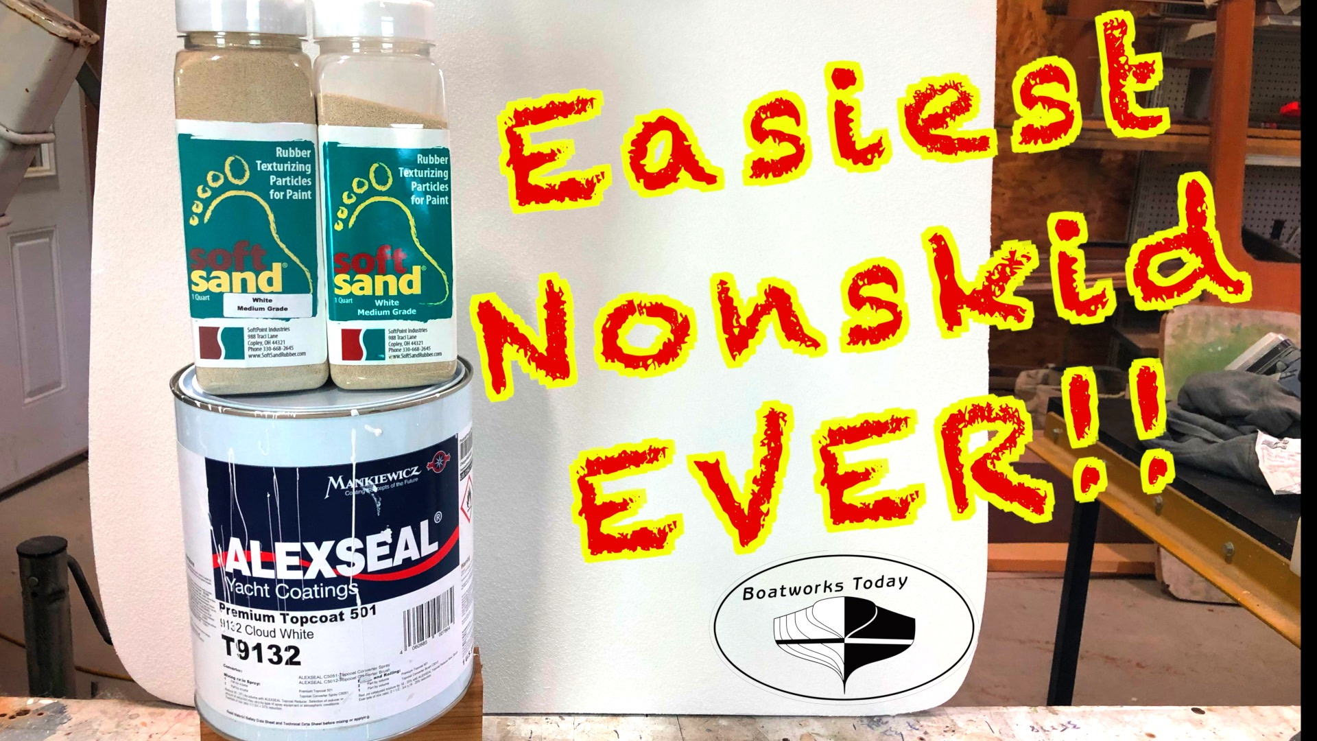 Easiest Way To Apply A Perfect Painted Nonskid On Your Boat!