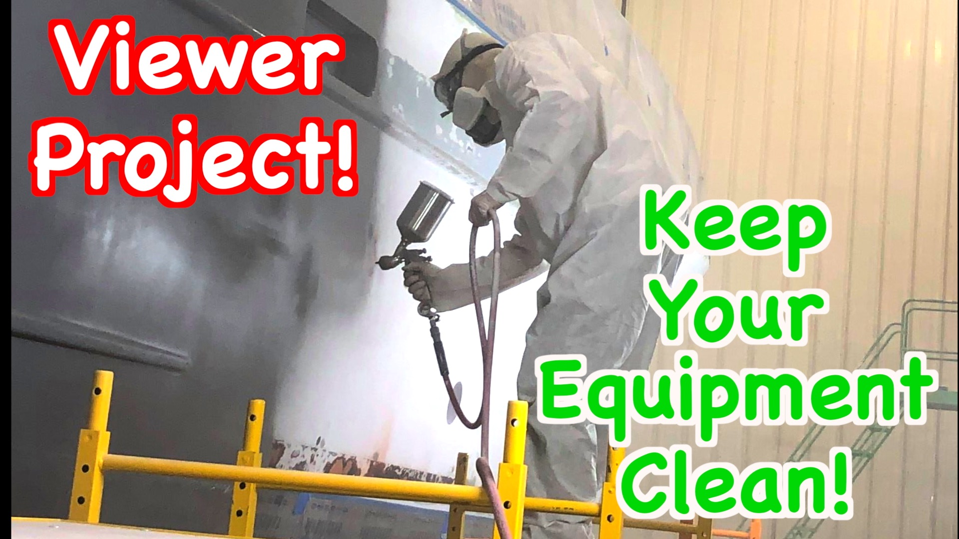 How To Break Down And Clean Your Paint Spraying Equipment!