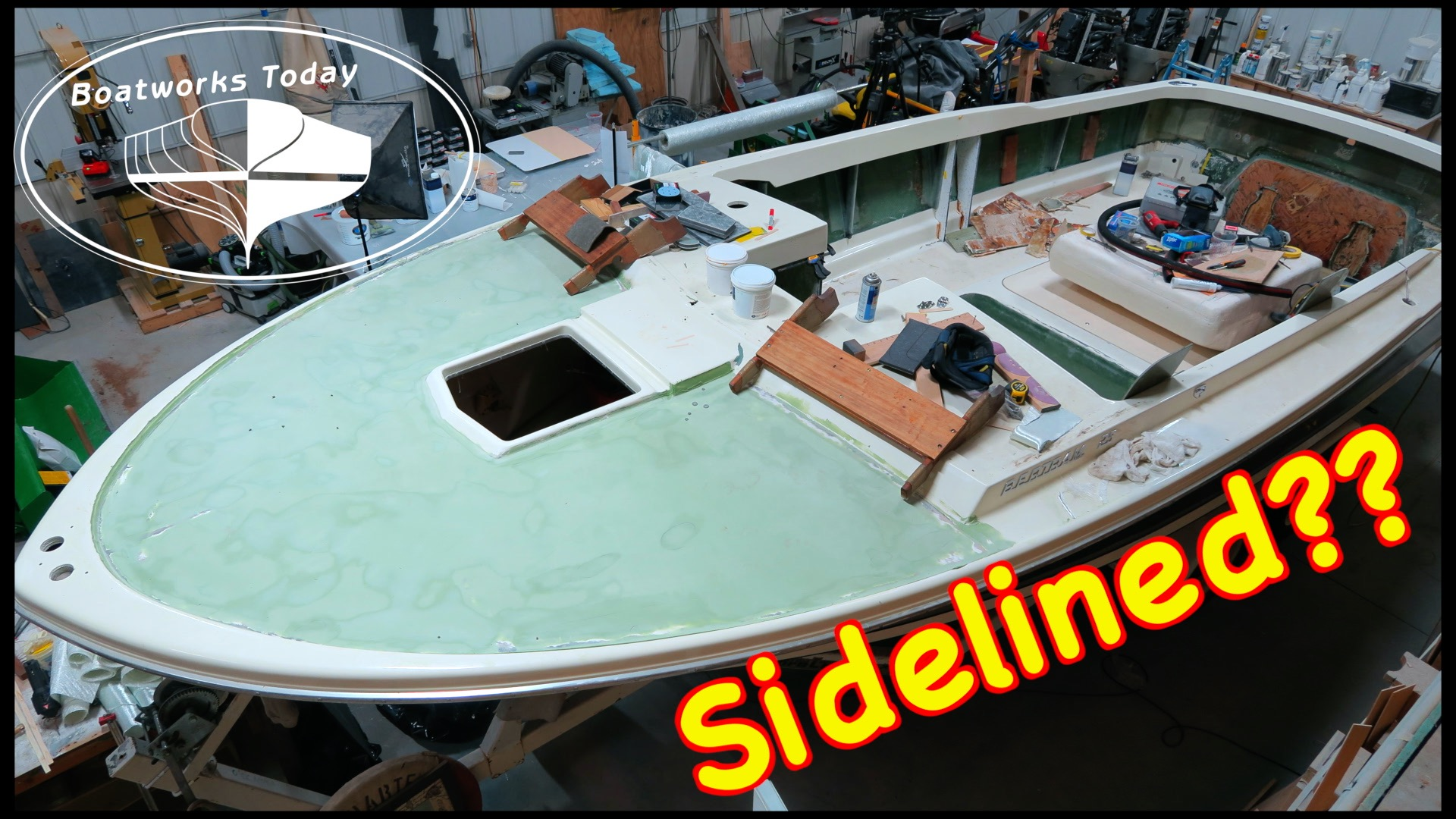 Are 1 Part Paints A Good Option For Your Boat Project? Bertram Moppie Update!!